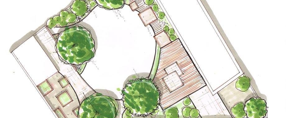 Plans de jardins des plans professionnels en quelques clics for Plan de jardin