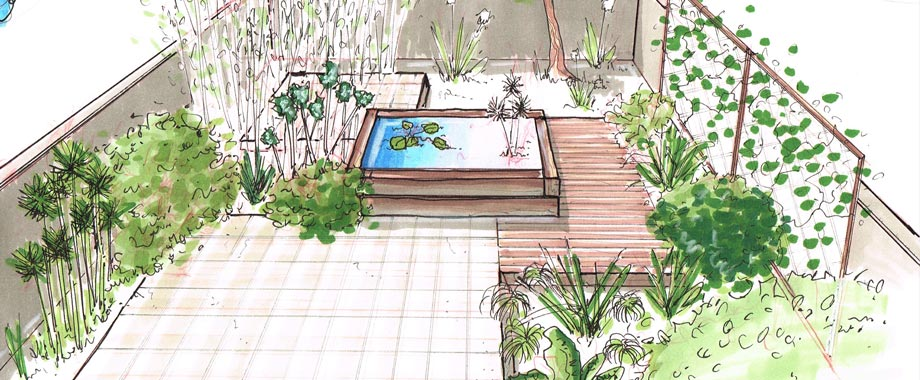 Plans de jardins des plans professionnels en quelques clics for Plan amenagement jardin