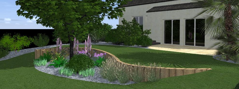 Imaginez le rendu de votre jardin