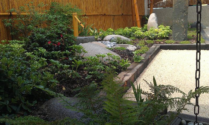 Votre jardin plans de jardins for Petit jardin japonisant