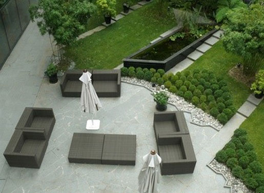 Votre jardin plans de jardins for Photo jardin moderne design